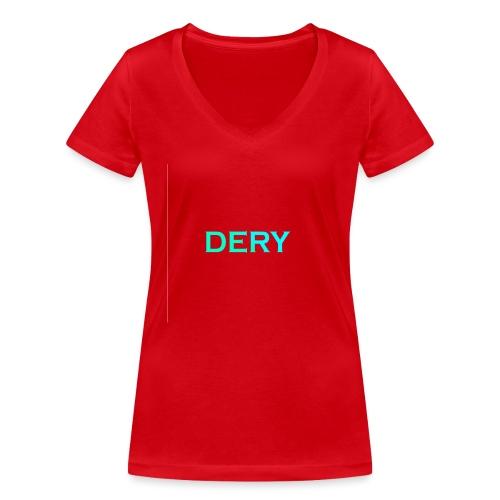 DERY - Frauen Bio-T-Shirt mit V-Ausschnitt von Stanley & Stella