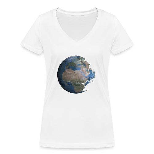 Death Earth - T-shirt bio col V Stanley & Stella Femme