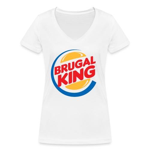 Brugal King - Camiseta ecológica mujer con cuello de pico de Stanley & Stella
