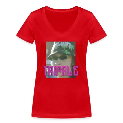 Rare Taipale - Stanley & Stellan naisten v-aukkoinen luomu-T-paita