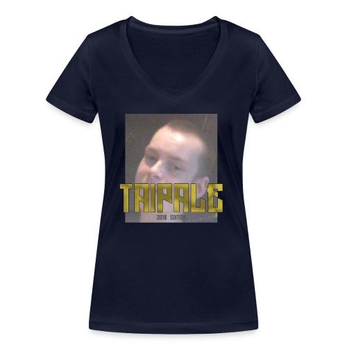 Taipale 2018 Edition - Stanley & Stellan naisten v-aukkoinen luomu-T-paita