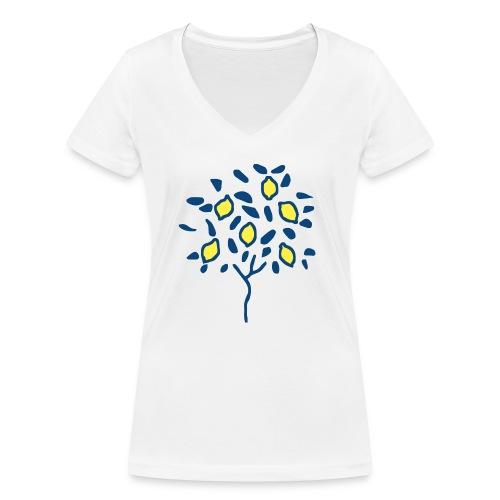 Citron - T-shirt bio col V Stanley & Stella Femme