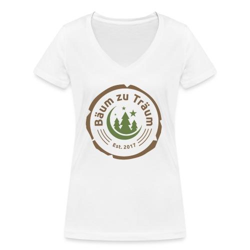 Bäum zu Träum - Frauen Bio-T-Shirt mit V-Ausschnitt von Stanley & Stella