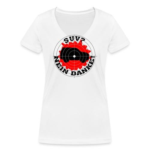 SUV? Nein danke! - Frauen Bio-T-Shirt mit V-Ausschnitt von Stanley & Stella