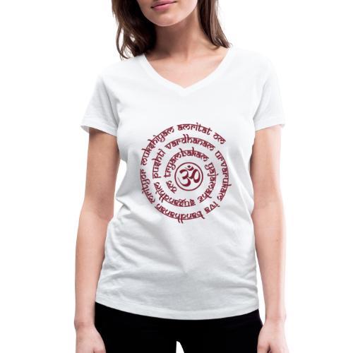 Tryambakam Mantra das Mantra zur Befreiung - Frauen Bio-T-Shirt mit V-Ausschnitt von Stanley & Stella