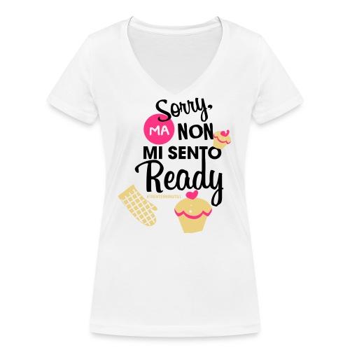 Non mi sento pronto - 30enninutili - T-shirt ecologica da donna con scollo a V di Stanley & Stella