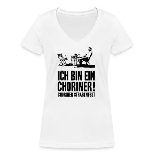 Ich bin ein Choriner! - Frauen Bio-T-Shirt mit V-Ausschnitt von Stanley & Stella