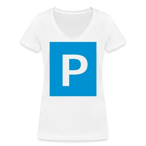 parken - Frauen Bio-T-Shirt mit V-Ausschnitt von Stanley & Stella