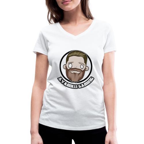 Ayabolli Gaming (Med text) - Ekologisk T-shirt med V-ringning dam från Stanley & Stella