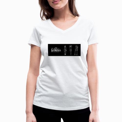 the felmates erotical - Frauen Bio-T-Shirt mit V-Ausschnitt von Stanley & Stella