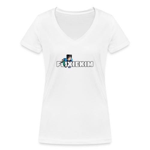 Flixiekim - Ekologisk T-shirt med V-ringning dam från Stanley & Stella