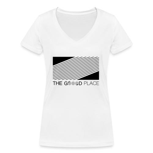 THE GOOOD PLACE LOGO - Vrouwen bio T-shirt met V-hals van Stanley & Stella