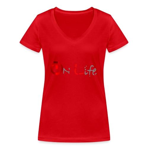 OnLife Logo - T-shirt bio col V Stanley & Stella Femme