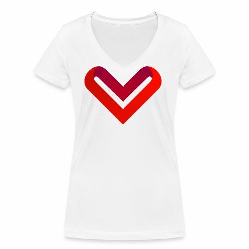 Coeur de V - T-shirt bio col V Stanley & Stella Femme