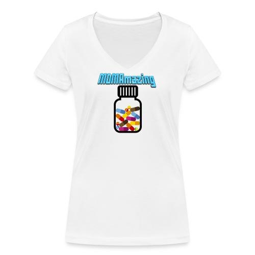 mdmamazing png - Frauen Bio-T-Shirt mit V-Ausschnitt von Stanley & Stella