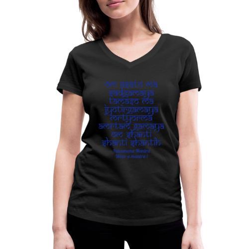 Om Asatoma Sadgamaya - T-shirt ecologica da donna con scollo a V di Stanley & Stella