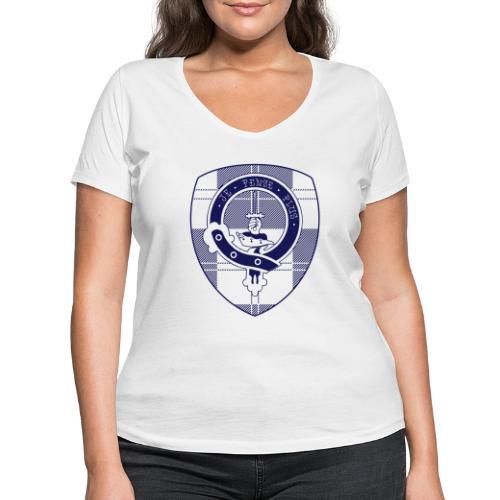 Logo Scouting Erskine 2018 - Vrouwen bio T-shirt met V-hals van Stanley & Stella