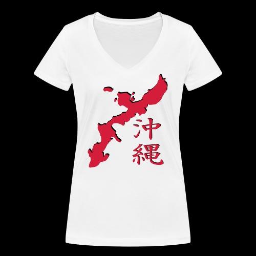 okinawa_05 - Frauen Bio-T-Shirt mit V-Ausschnitt von Stanley & Stella