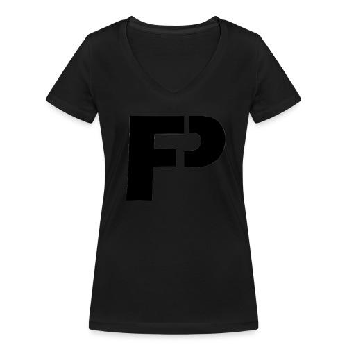 logo - Vrouwen bio T-shirt met V-hals van Stanley & Stella