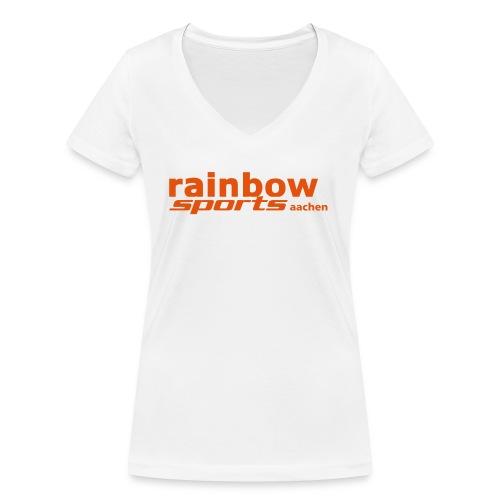 Logo_RSAC_nurSchrift - Frauen Bio-T-Shirt mit V-Ausschnitt von Stanley & Stella