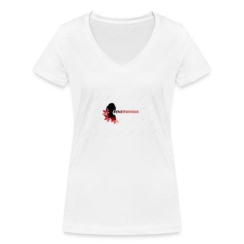 FINETHINGS - T-shirt bio col V Stanley & Stella Femme