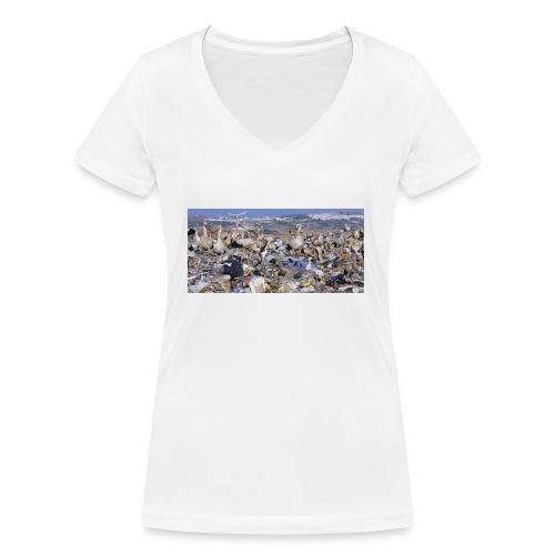 IMG 5629 - T-shirt bio col V Stanley & Stella Femme