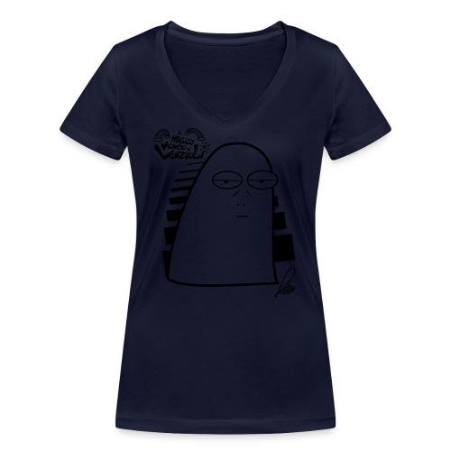 Lenzuolo Pessarotta - T-shirt ecologica da donna con scollo a V di Stanley & Stella