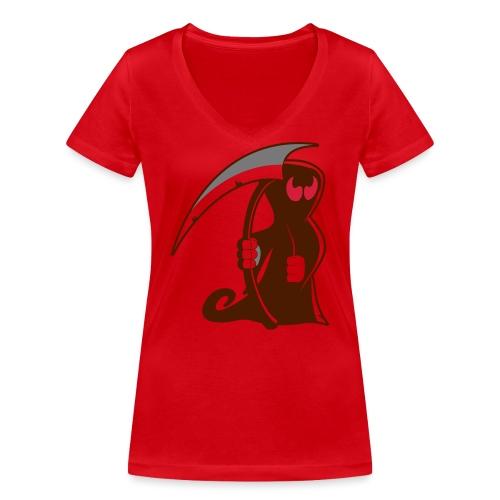 death - T-shirt ecologica da donna con scollo a V di Stanley & Stella