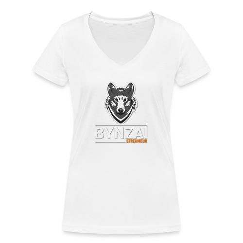 Casquette bynzai - T-shirt bio col V Stanley & Stella Femme