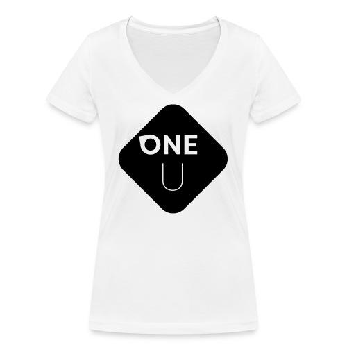 One U - Bottom - Ekologisk T-shirt med V-ringning dam från Stanley & Stella