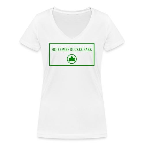 RuckerPark - T-shirt ecologica da donna con scollo a V di Stanley & Stella