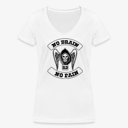 RBNDLX SHIRT - MC LOGO WITH SENTENCE - Frauen Bio-T-Shirt mit V-Ausschnitt von Stanley & Stella