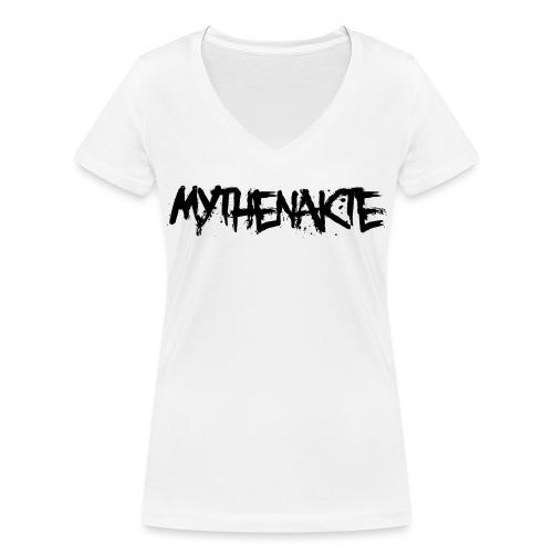 mythenakte - Frauen Bio-T-Shirt mit V-Ausschnitt von Stanley & Stella
