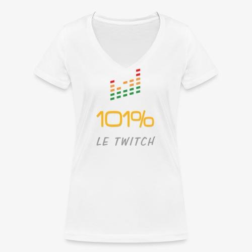 101%LeTiwtch vous présente enfin sa boutique - T-shirt bio col V Stanley & Stella Femme