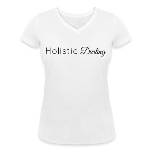 Holistic Darling - Women's Organic V-Neck T-Shirt by Stanley & Stella