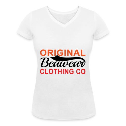 Original Beawear Clothing Co - Women's Organic V-Neck T-Shirt by Stanley & Stella