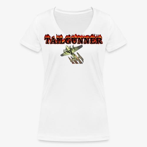 LOGO - Frauen Bio-T-Shirt mit V-Ausschnitt von Stanley & Stella