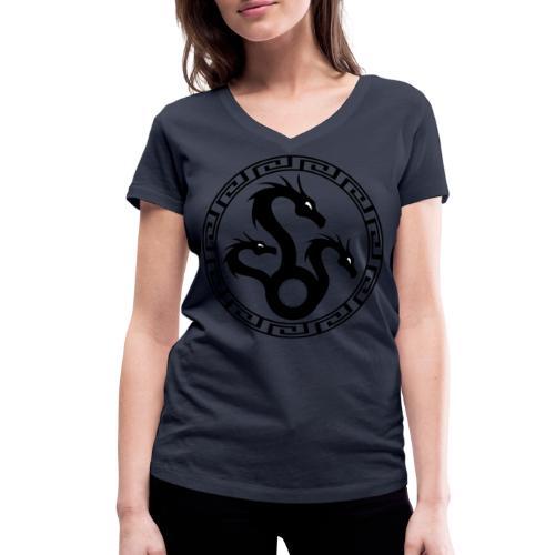 Hydra - Women's Organic V-Neck T-Shirt by Stanley & Stella