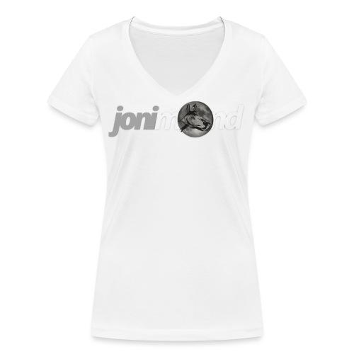 jonimondfreigestelltpng - Frauen Bio-T-Shirt mit V-Ausschnitt von Stanley & Stella