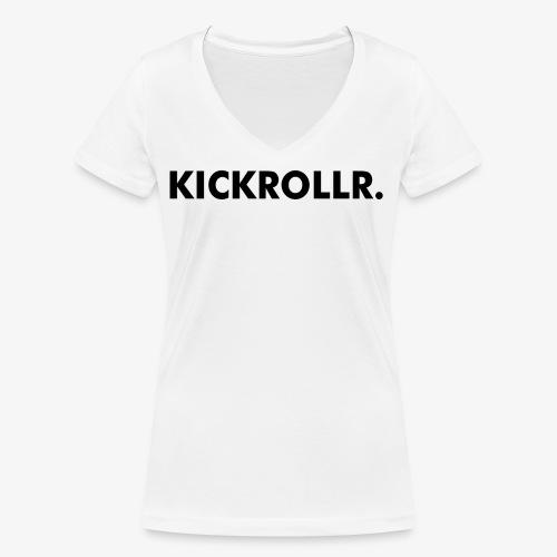 KICKROLLR. - Vrouwen bio T-shirt met V-hals van Stanley & Stella