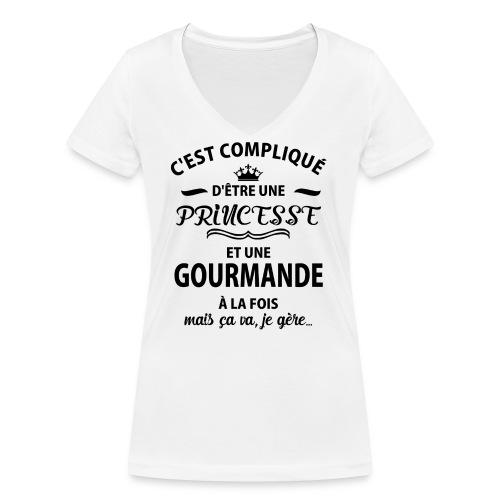 cxvxg - T-shirt bio col V Stanley & Stella Femme