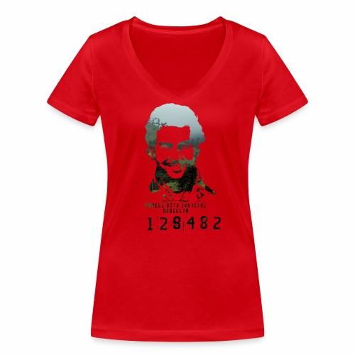 Pablo Escobar - Regenwald in Kolumbien - Frauen Bio-T-Shirt mit V-Ausschnitt von Stanley & Stella