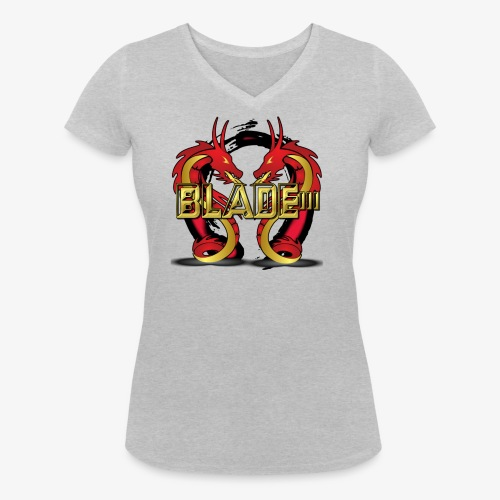 Blade - Women's Organic V-Neck T-Shirt by Stanley & Stella