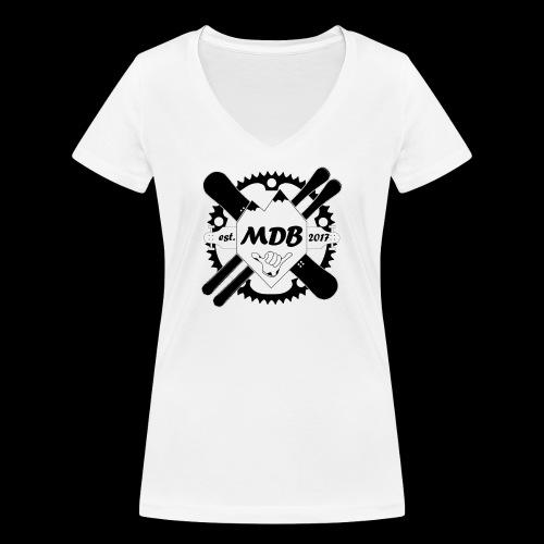 Madabe Logo Shirt - Frauen Bio-T-Shirt mit V-Ausschnitt von Stanley & Stella