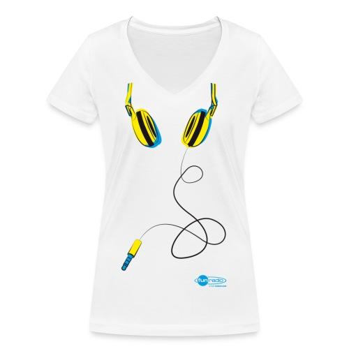 cask-3 - T-shirt bio col V Stanley & Stella Femme