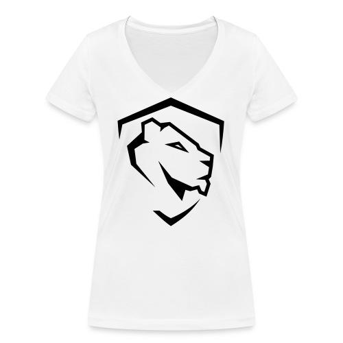 Aesthetics - Ekologiczna koszulka damska z dekoltem w serek Stanley & Stella