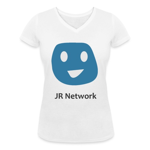 JR Network - Women's Organic V-Neck T-Shirt by Stanley & Stella