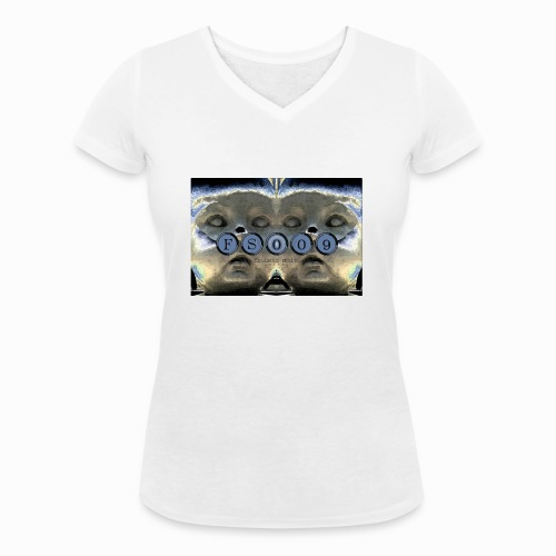 baby madrid ii - Women's Organic V-Neck T-Shirt by Stanley & Stella