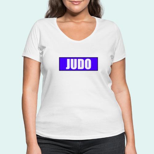 Judo Blau 2. Kyu - Frauen Bio-T-Shirt mit V-Ausschnitt von Stanley & Stella