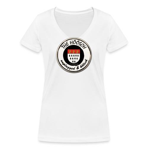 Höösch Logo - Frauen Bio-T-Shirt mit V-Ausschnitt von Stanley & Stella
